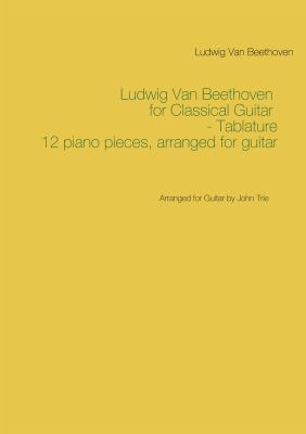 Ludwig van Beethoven for classical guitar
